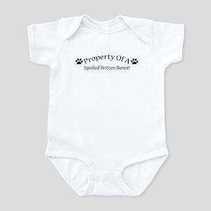 Spoiled Rotten Boxer Infant Bodysuit