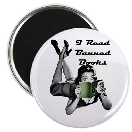 Banned Books Magnet