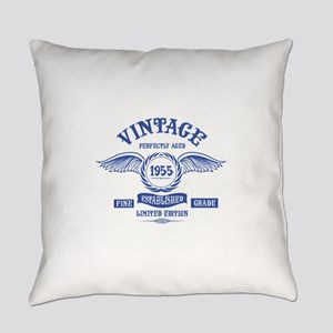 Vintage Perfectly Aged 1955 Everyday Pillow