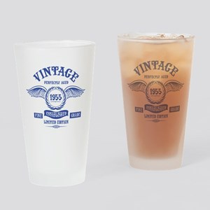 Vintage Perfectly Aged 1955 Drinking Glass