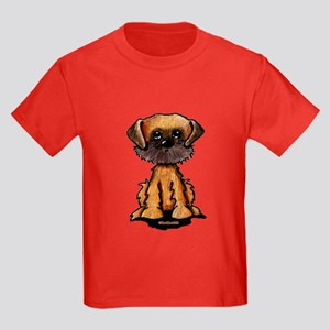 Brussels Griffon Kids Dark T-Shirt