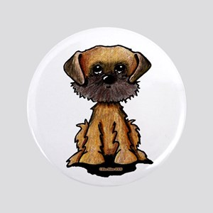 "Brussels Griffon 3.5"" Button"