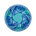 """Celtic Planet 3.5"""" Button"""