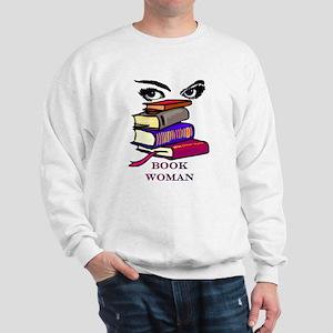 Book Woman Sweatshirt