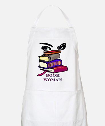 Book Woman BBQ Apron