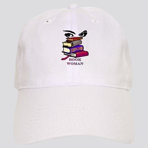 Book Woman Cap