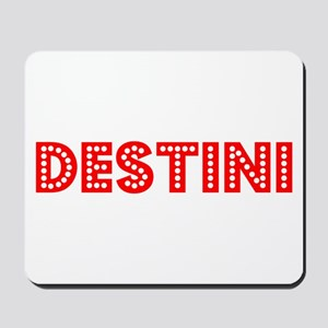 Retro Destini (Red) Mousepad
