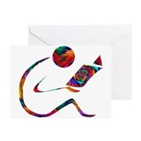 Librarian Greeting Cards (10 Pack)