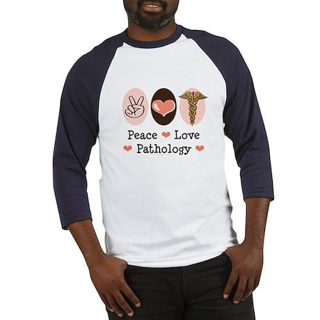 Peace Love Pathology Baseball Jersey