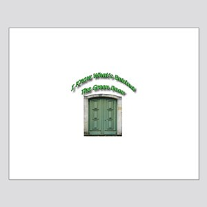 The Green Door Small Poster