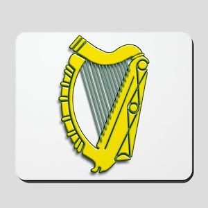 Celtic, Gaelic, Irish Harp Mousepad