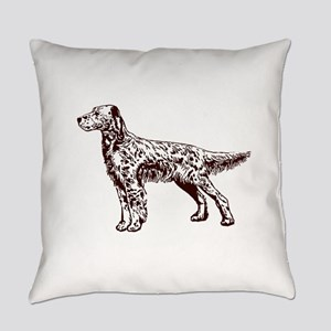 English Setter Everyday Pillow