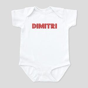 Retro Dimitri (Red) Infant Bodysuit
