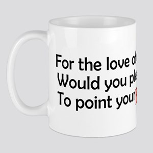 Point Your Feet Mug