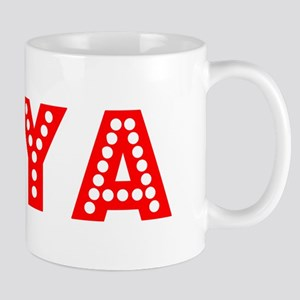 Retro Diya (Red) Mug