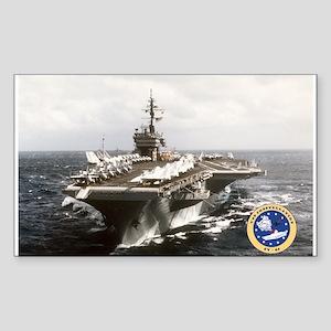 USS Constellation CV-64 Rectangle Sticker