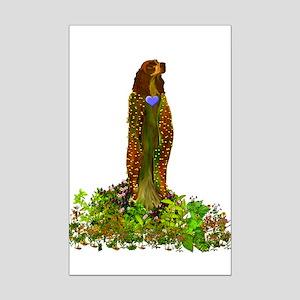 Unconditional Love Goddess Mini Poster Print