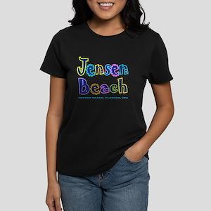 Jensen Beach - Women's Dark T-Shirt