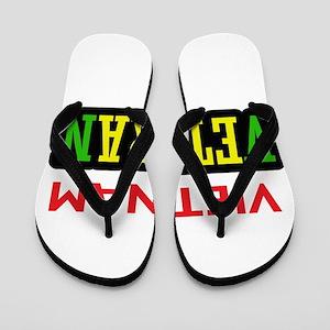 Vietnam Veteran Flip Flops