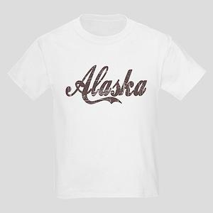 Vintage Alaska Kids T-Shirt