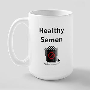Healthy Semen Large Mug