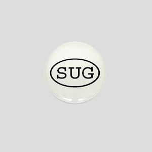 SUG Oval Mini Button