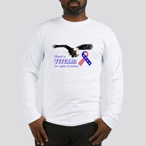 Thank A Veteran Long Sleeve T-Shirt