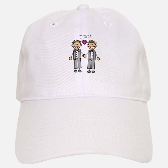Gay Marriage - I Do Baseball Baseball Cap