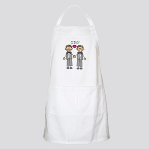 Gay Marriage - I Do BBQ Apron