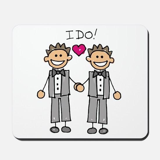 Gay Marriage - I Do Mousepad