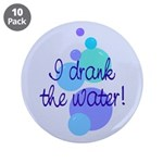"""The Water 3.5"""" Button (10 pack)"""