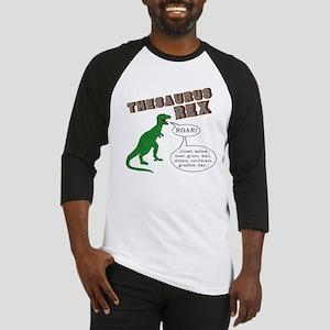 Thesaurus Rex Baseball Jersey