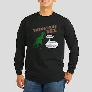 Thesaurus Rex Long Sleeve Dark T-Shirt