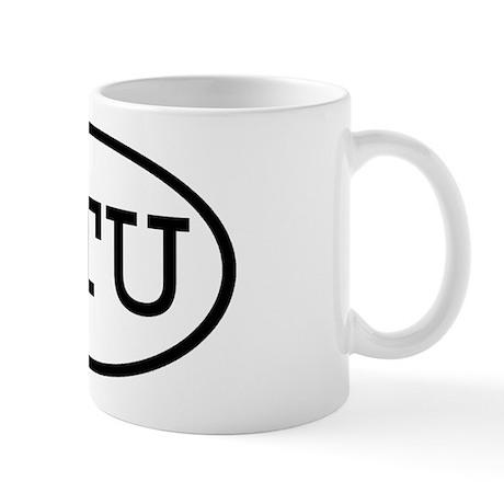 STU Oval Mug