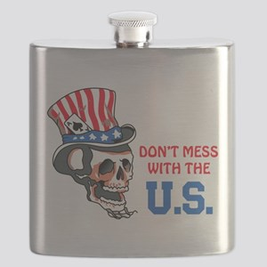 Don't Mess with the U.S. Flask