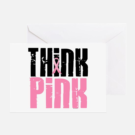 Think Pink 5 Greeting Card
