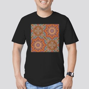 turquoise orange bohemian moroccan T-Shirt