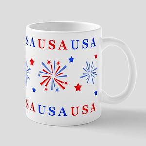 USA Fireworks Mugs