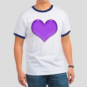Purple Heart Ringer T