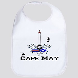 capemay lighthouse1a Baby Bib