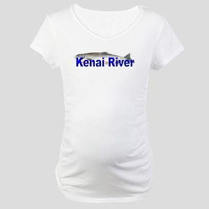 Kenai, Alaska, Alaskan Maternity T-Shirt