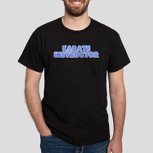 Retro Karate Inst.. (Blue) Dark T-Shirt