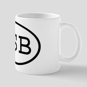 SSB Oval Mug