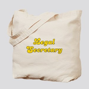 Retro Legal Secre.. (Gold) Tote Bag