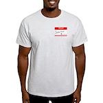 John Doe #_ T-Shirt (Ash grey)