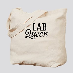 Lab Queen Tote Bag