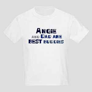 Angie and dad Kids Light T-Shirt