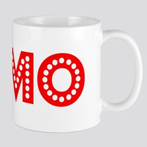 Retro Elmo (Red) Mug