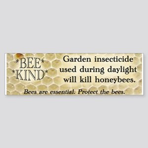 Bee Kind Bumper Sticker