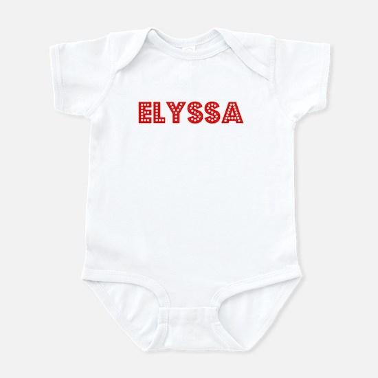 Retro Elyssa (Red) Infant Bodysuit
